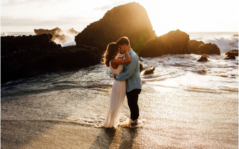 Kelly & Trevor | Laguna Beach Elopement Photographer