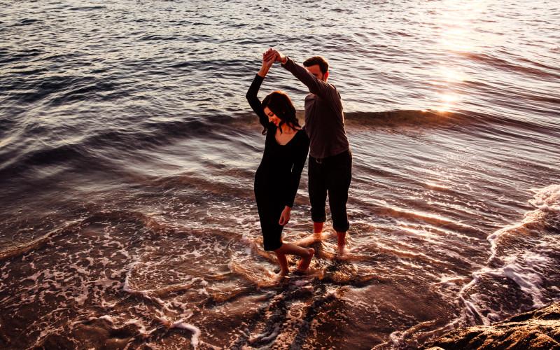 Lauren & Mike | Laguna Beach Couples Session