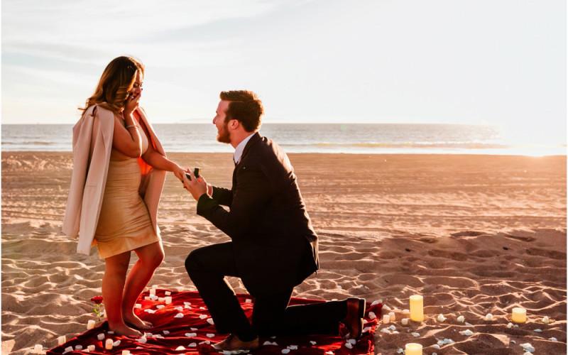 Marlen & Michael | Sunset Beach Proposal