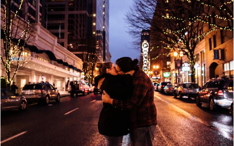 Taylor & Justin | Portland Engagement