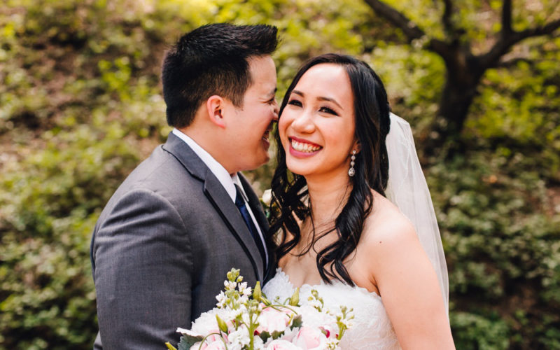Tam & Jonathan Lam | Oak Canyon Nature Center Wedding