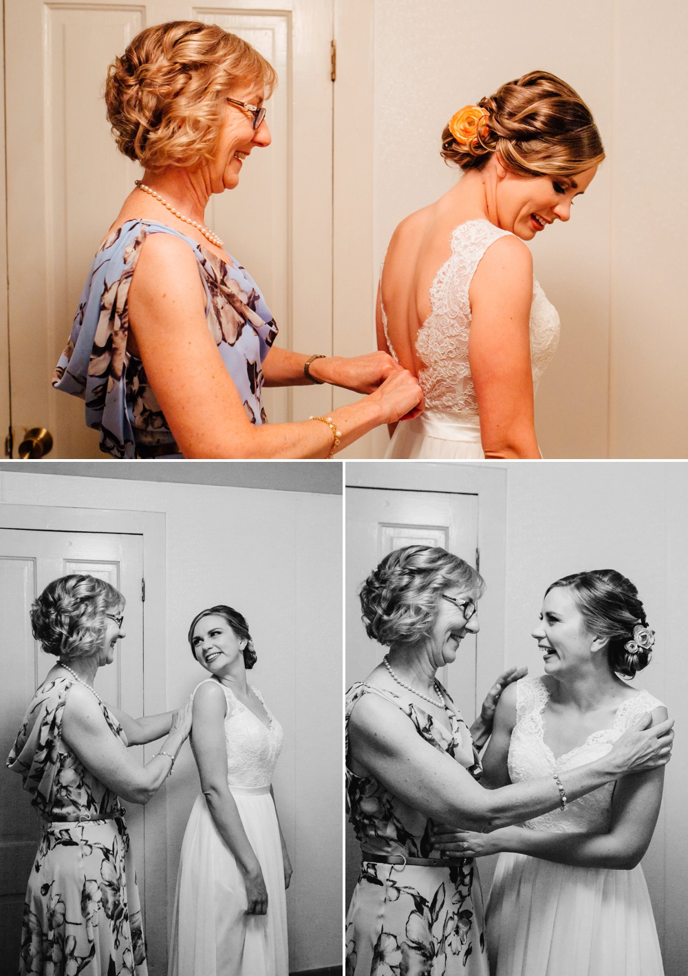 Mother of Bride Getting Ready