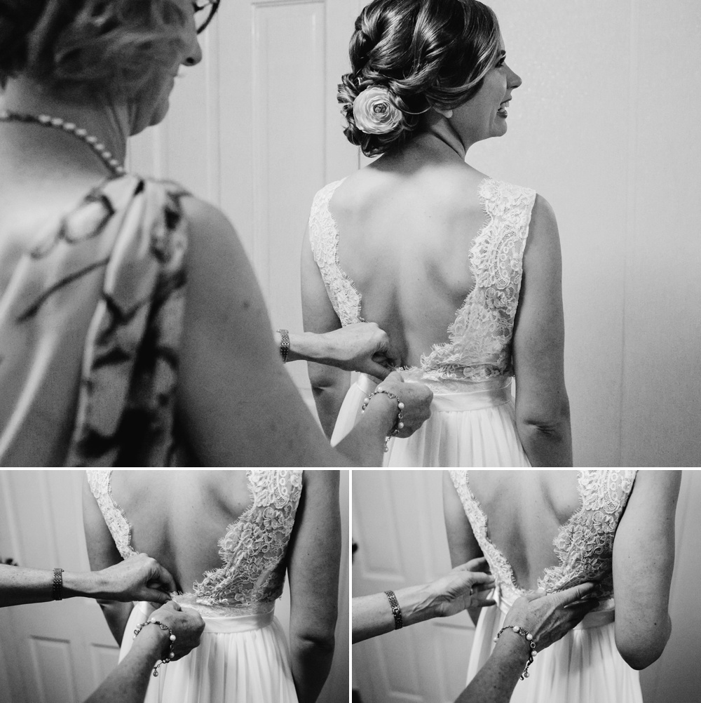 Bride Getting Ready Shinn House Wedding Photographer