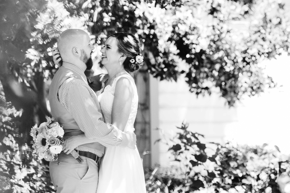 Shinn House Wedding Photographer Bride and Groom Portraits