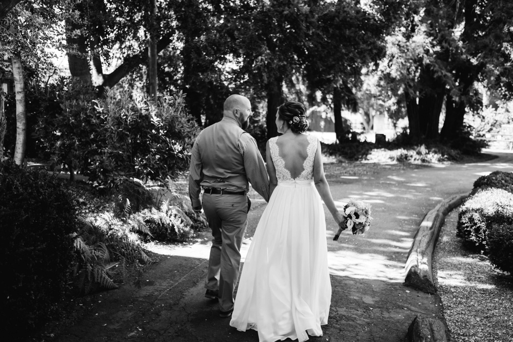 Shinn House Wedding Photographer Bride and Groom Candid Portraits