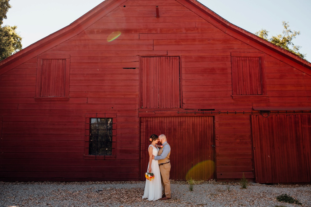 Red Barn Shinn Historic Park Wedding Photographer