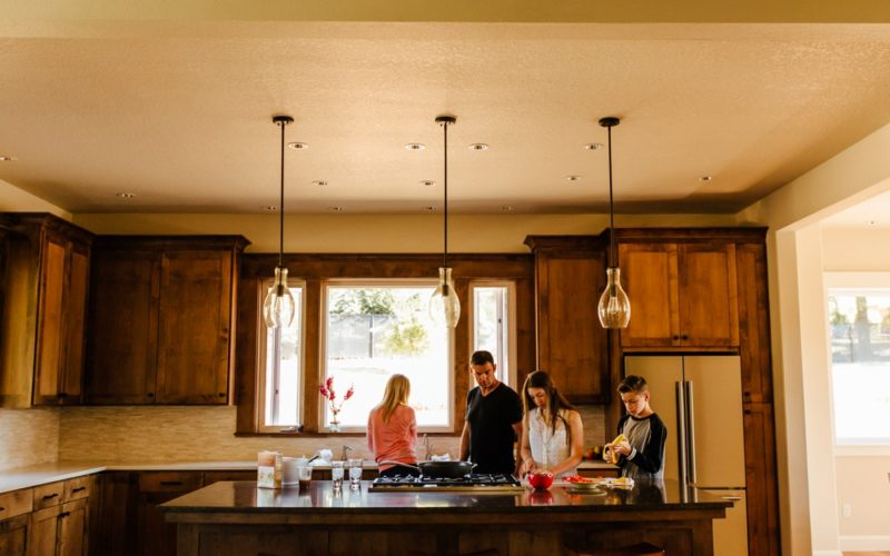 Wright Family | In Home Family Session - Happy Valley, OR