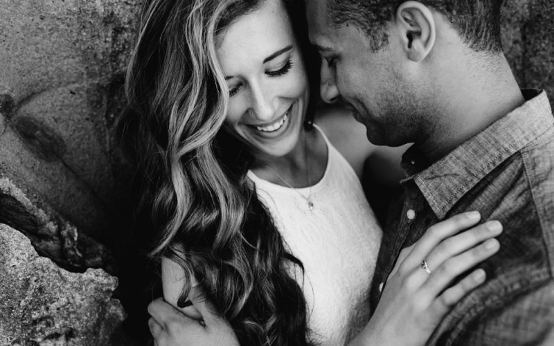 Alysia & Justin | Beach Engagement Session
