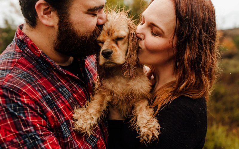 Alyssa & George | Rainy Day Photo Session
