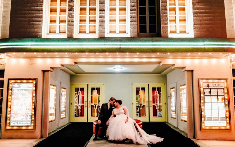Quincy & Brian | Center Stage Theater Wedding Photographer