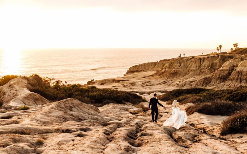 Sunset Cliffs San Diego Elopement