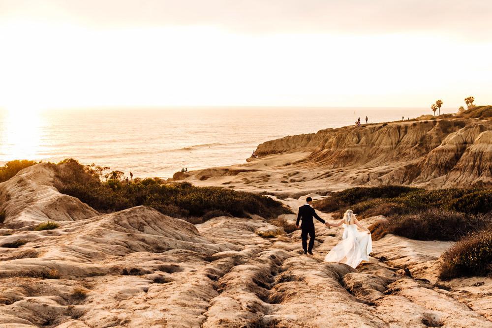 Sunset Cliffs San Diego Elopement