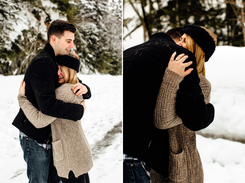 Seattle Winter Proposal Photographer