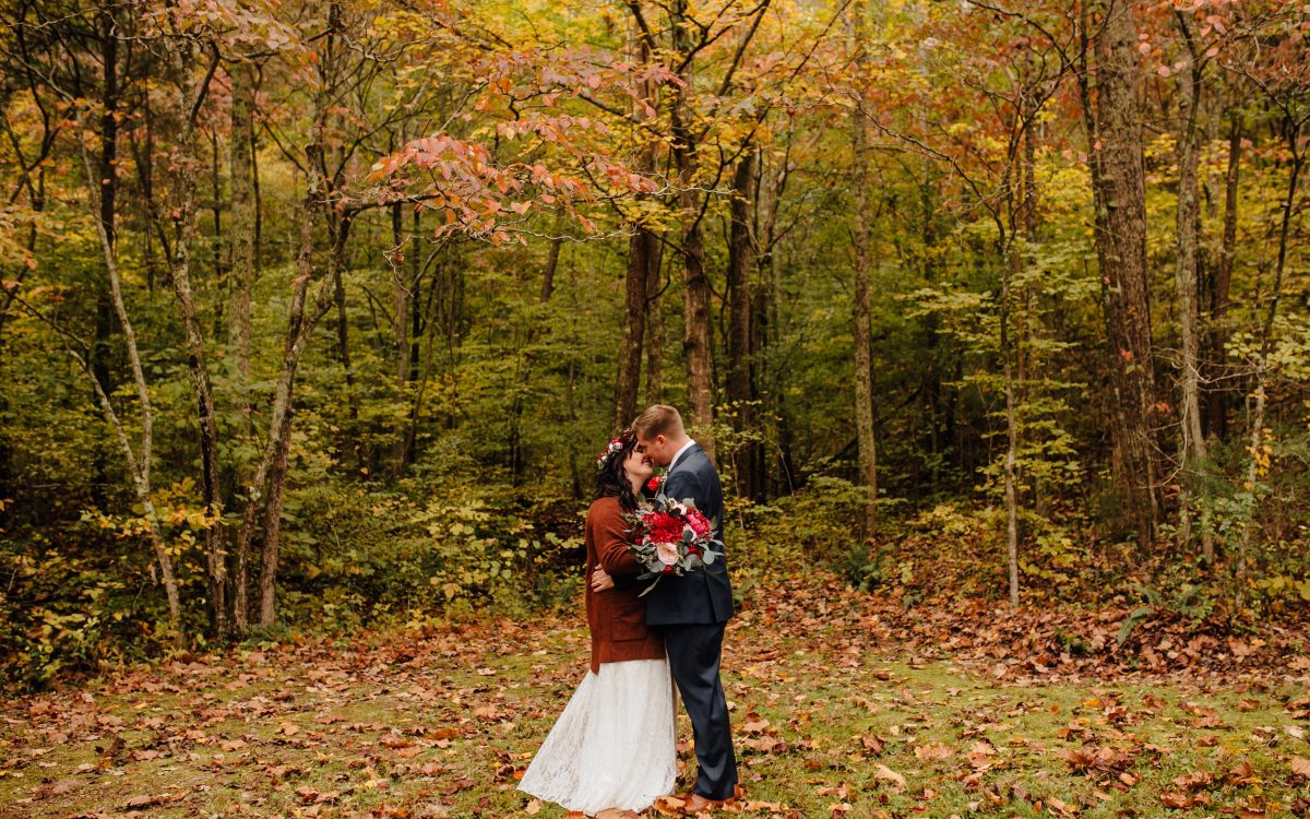 Intimate Outdoor Fall Wedding | Nashville, TN