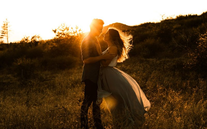 San Diego Romantic Sunset Photographer