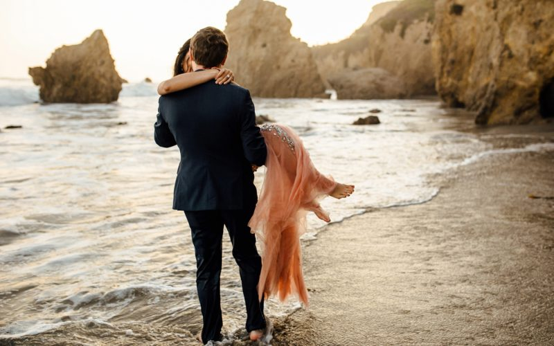El Matador Beach Elopement Photographer