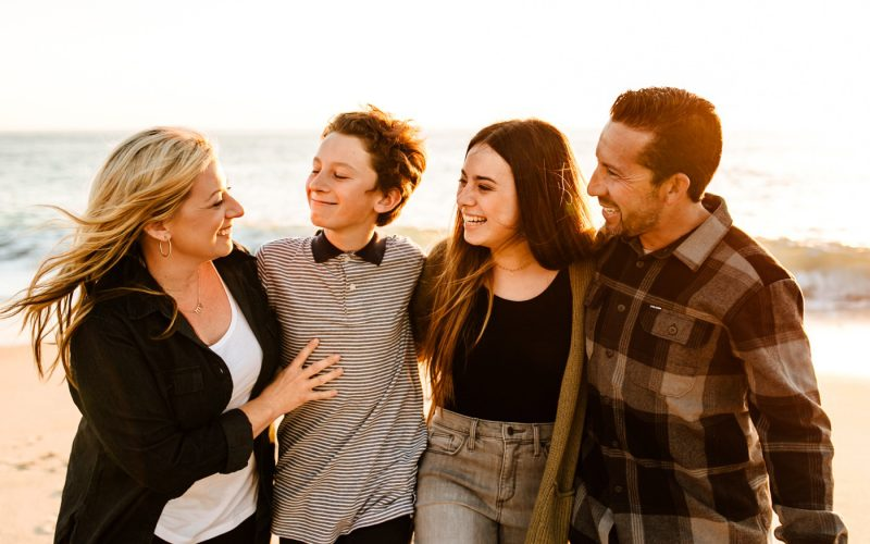 Laguna Beach Sunset Family Portraits