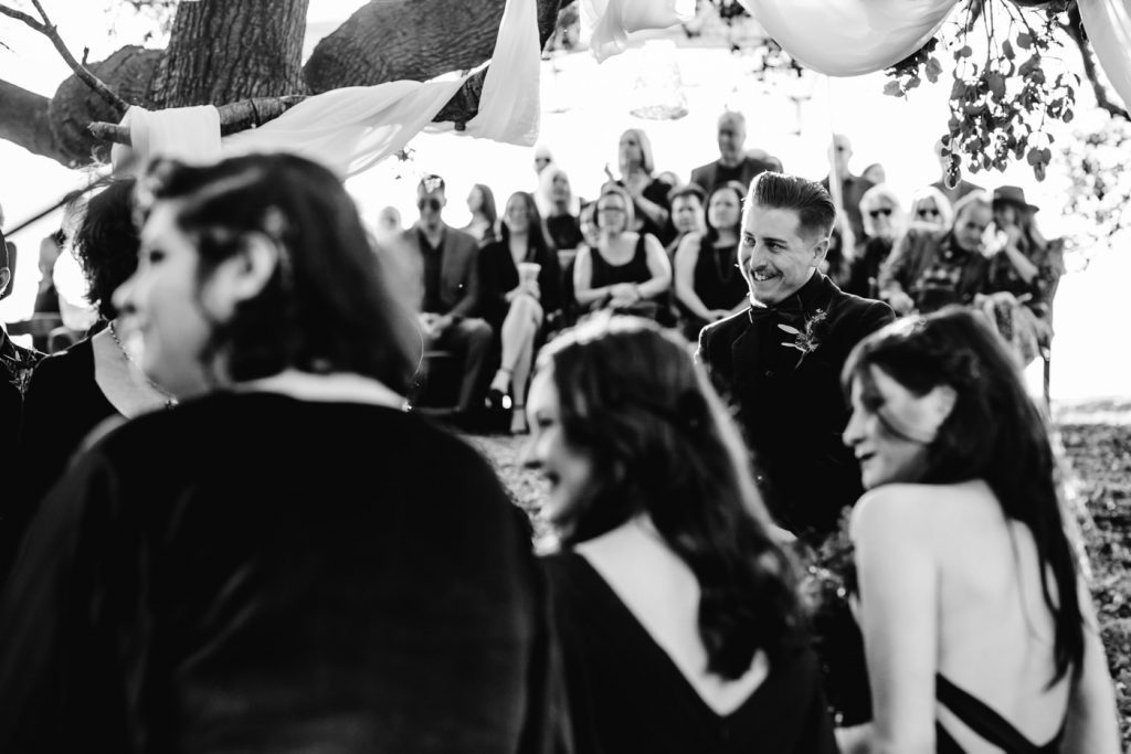 Dark and Moody DIY Pagan Vegan Wedding Photographer Ceremony