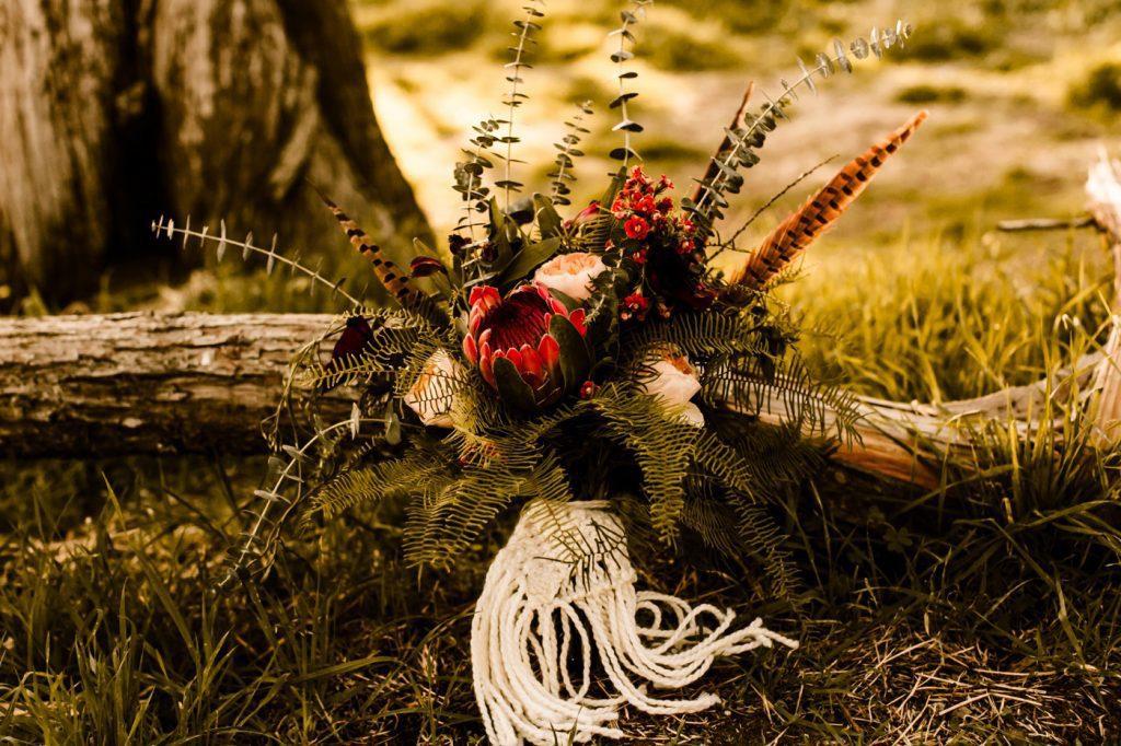 Macrame Boho Bouquet