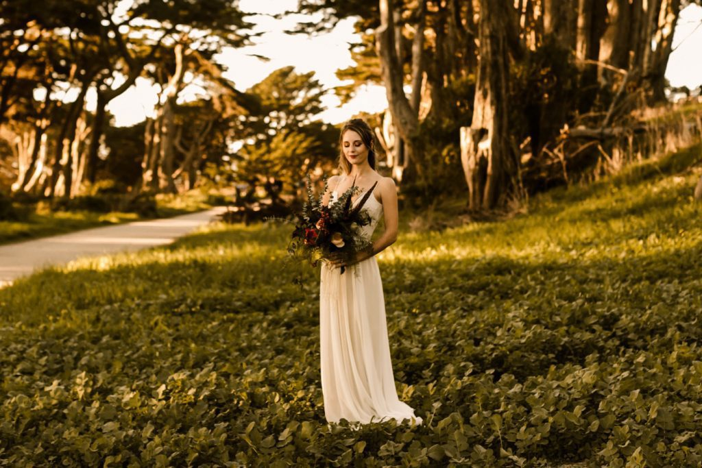Lands End Elopement Styled Shoot