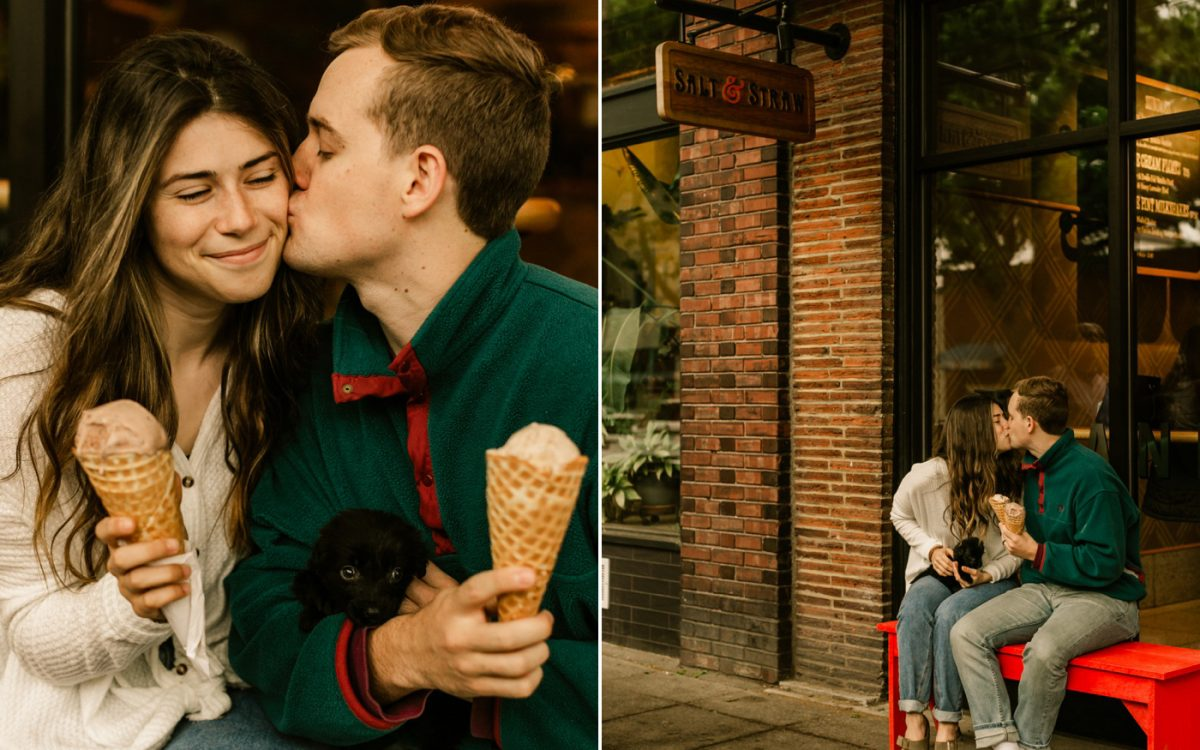 Salt & Straw Couples Session