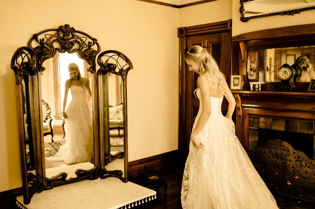 Victorian Belle Wedding Photographer getting ready photos