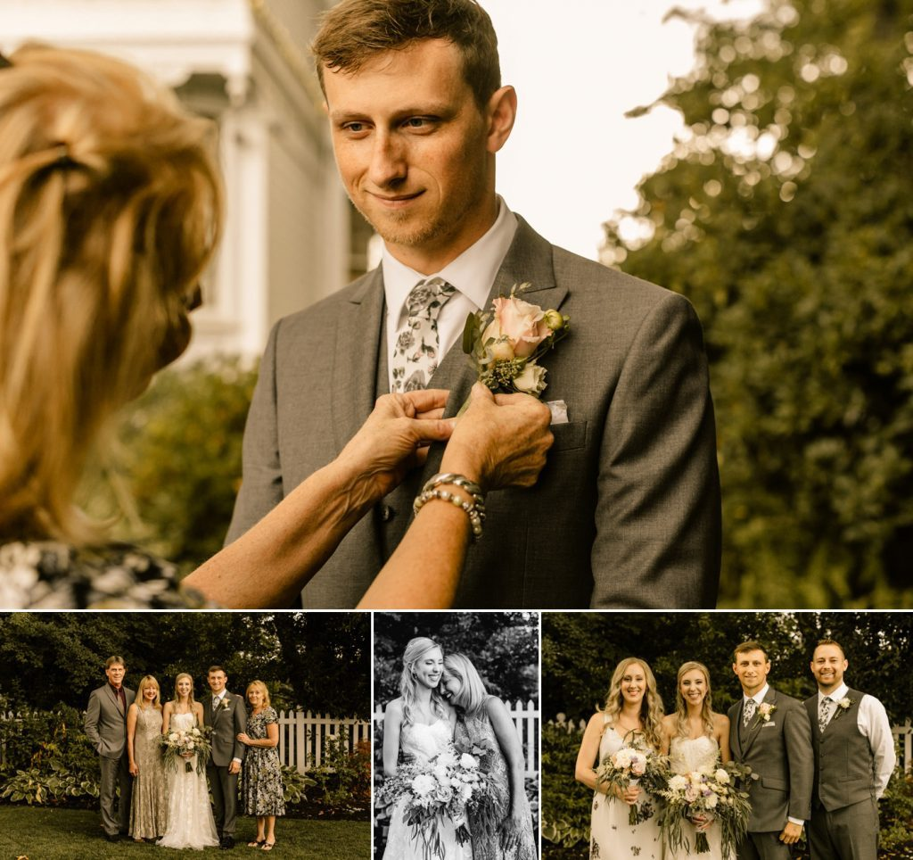 Victorian Belle Wedding Photographer family portraits