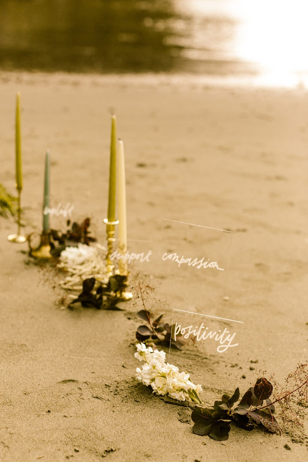Cape disappointment elopement photographer