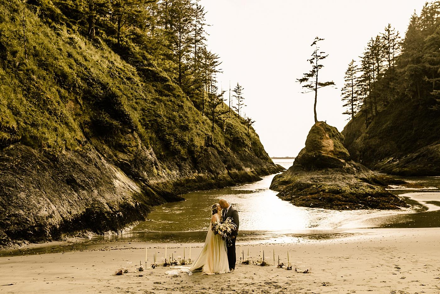 Seattle bride magazine photographer elopement