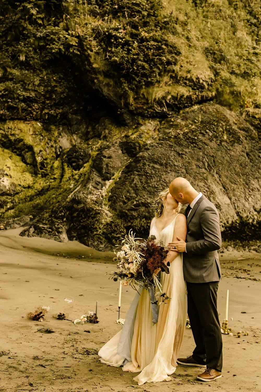 PNW Beach Elopement Photographer