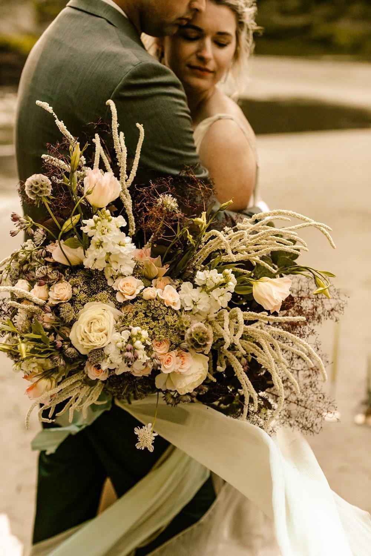wildflower bouquet inspiration pnw wedding