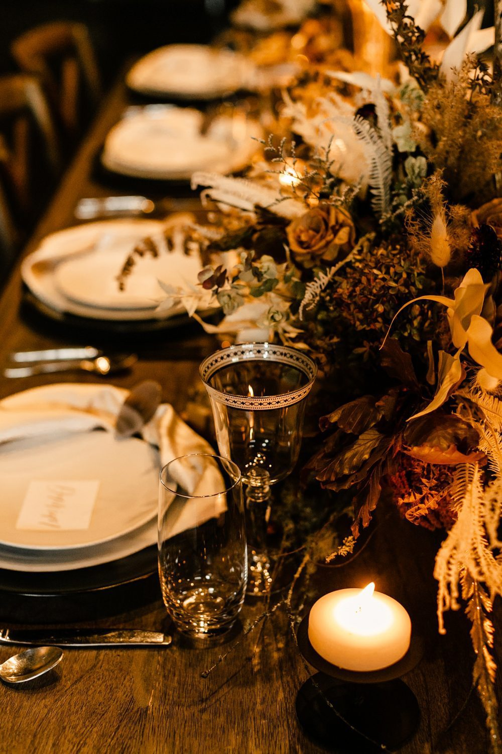 table decor inspiration celestial styled shoot WithinSodo seattle photographer