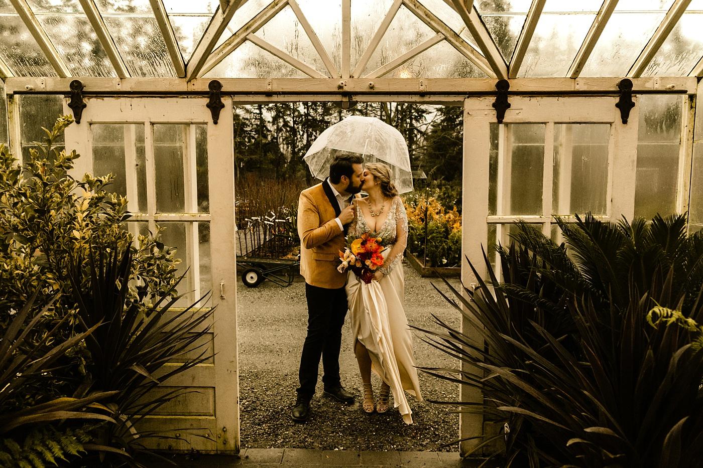 Christiansons Nursery Wedding Photographer Seattle venue