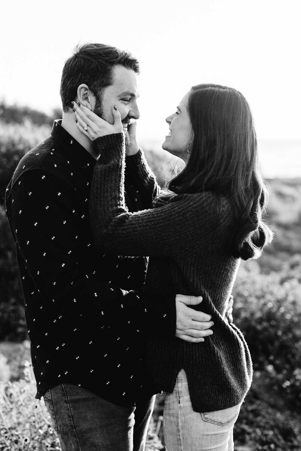 Candid engagement photo inspiration