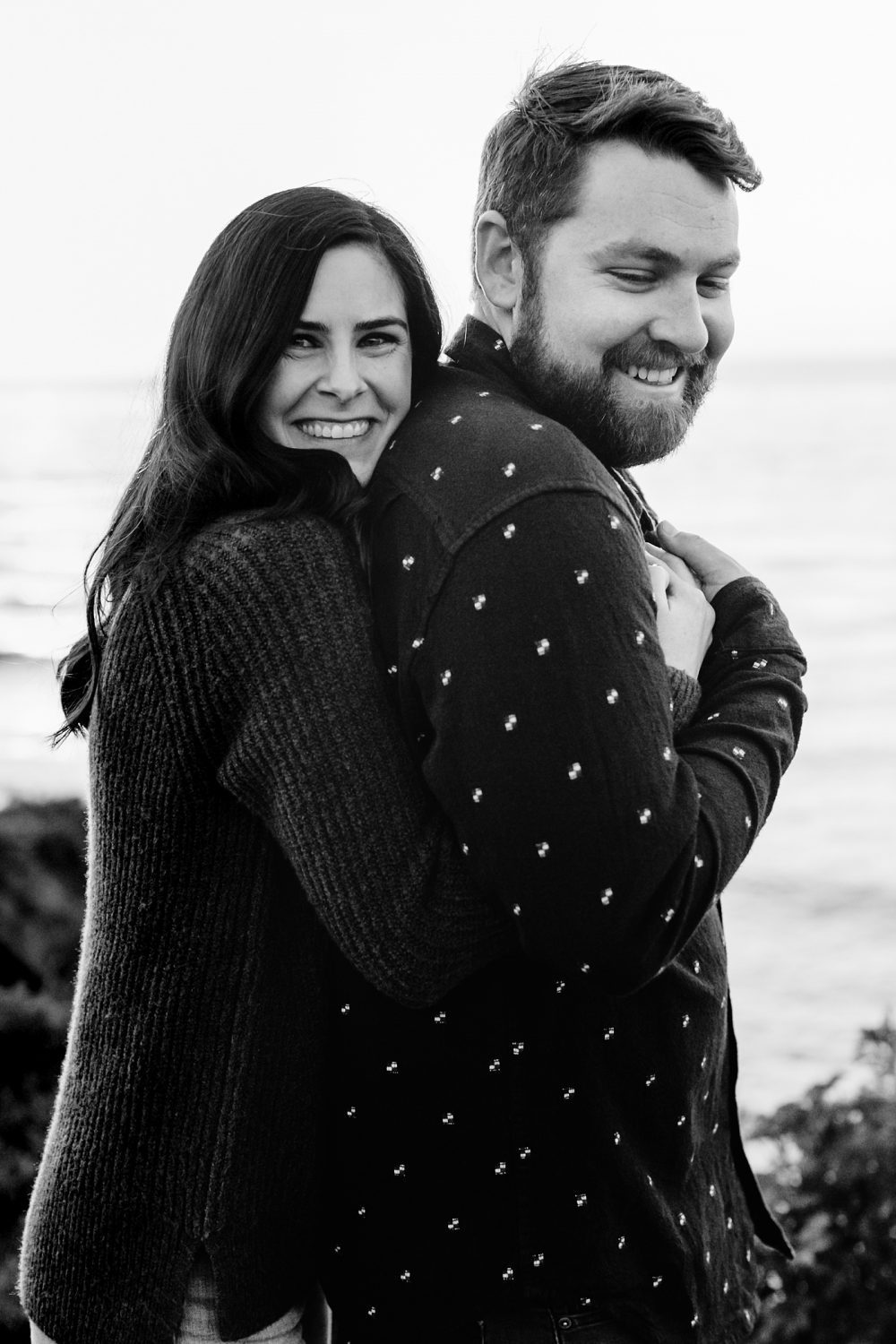 Candid engagement photo pose inspiration