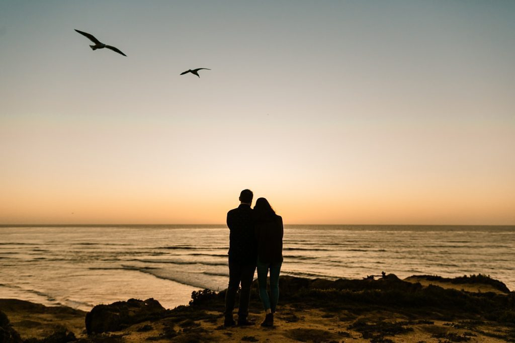Sunset Cliffs Engagement Photographer San Diego inspiration