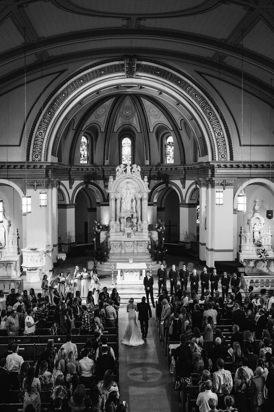 gonzaga wedding ceremony photographer