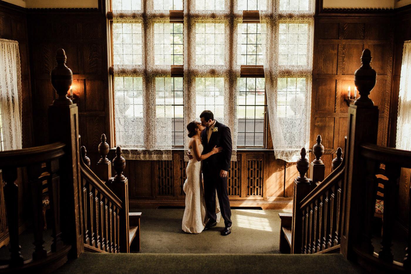 Bozarth mansion wedding photographer