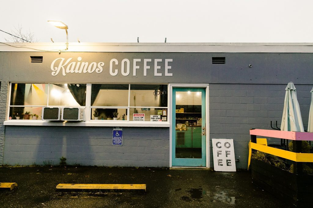 Kainos Coffee shop downtown Portland