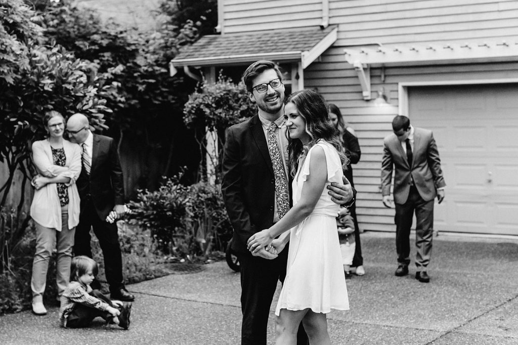 candid elopement photographer in the PNW