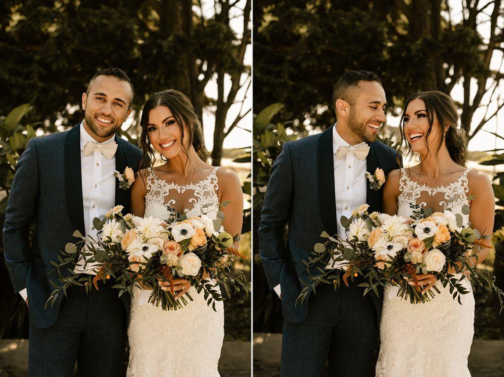 Cape Rey Carlsbad Wedding Photographer bride and groom portraits