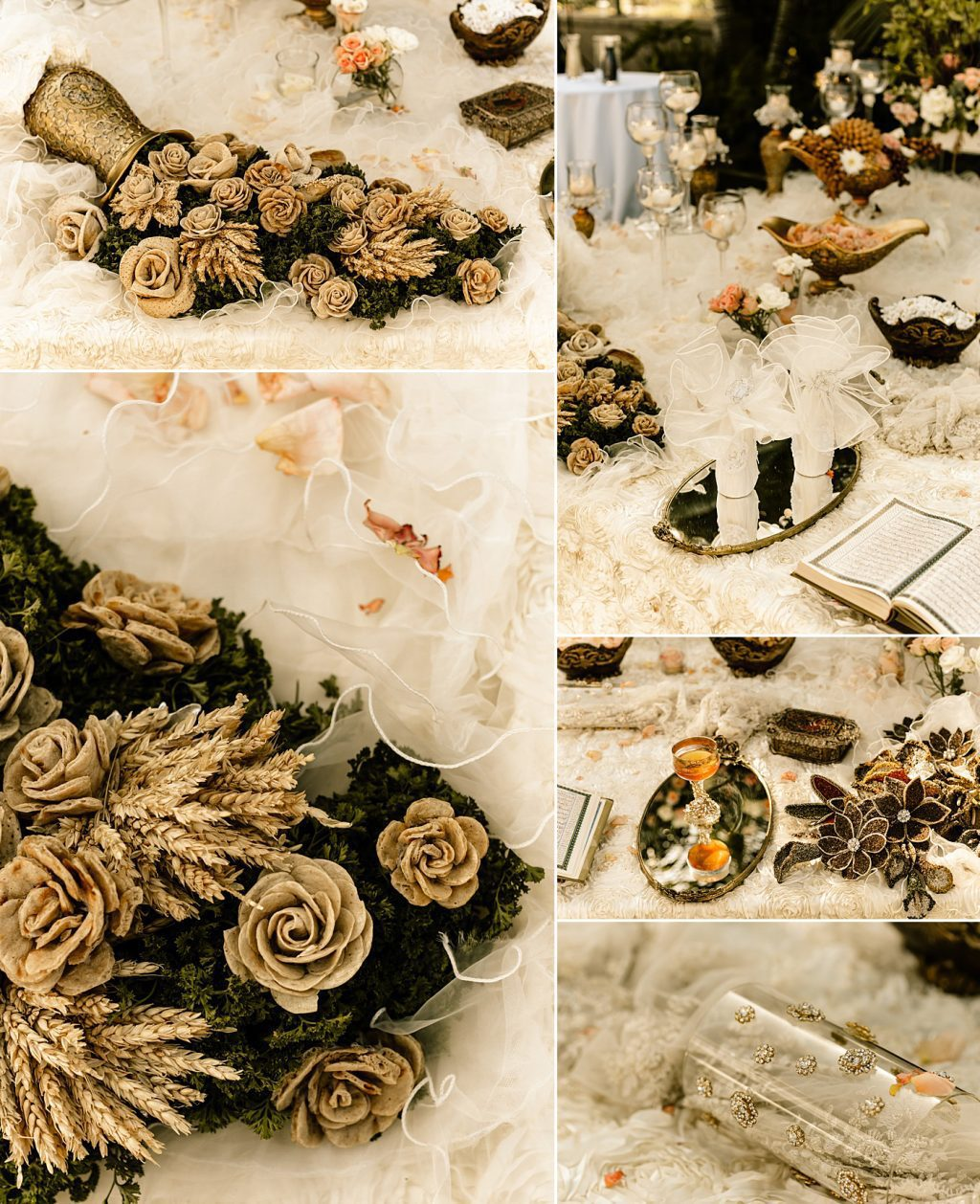 Cape Rey Carlsbad Wedding Photographer Sofreh Table Detail Photos