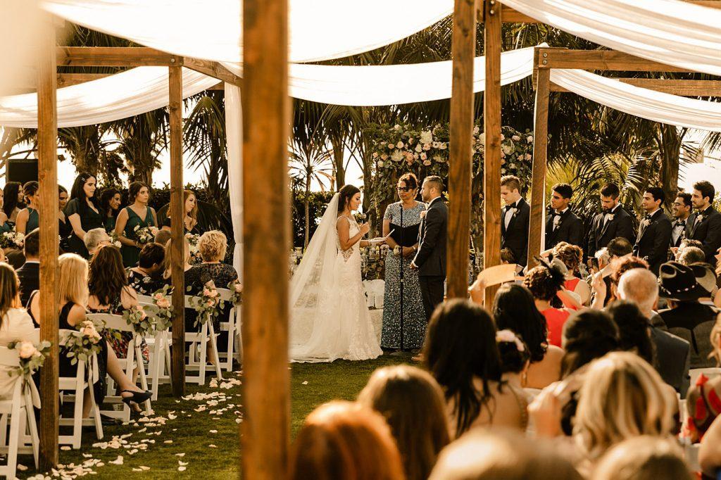 Cape Rey Carlsbad Wedding Photographer ceremony