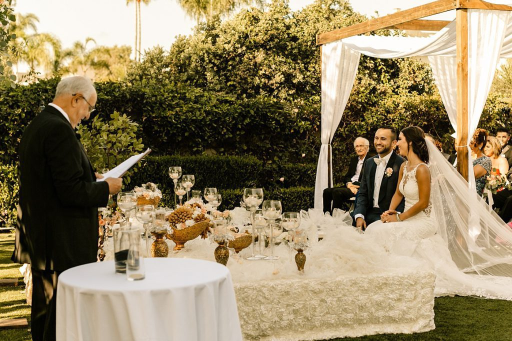 Sofreh table, Persian ceremony in San Diego, CA