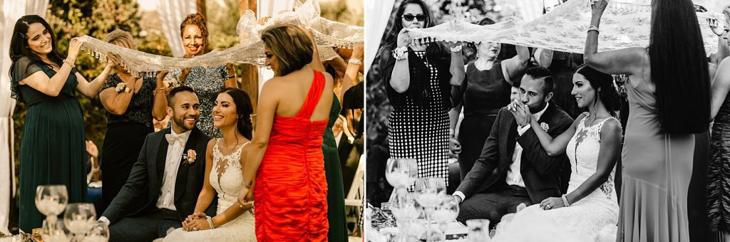 Candid moments during Persian ceremony, Carlsbad Wedding Photographer