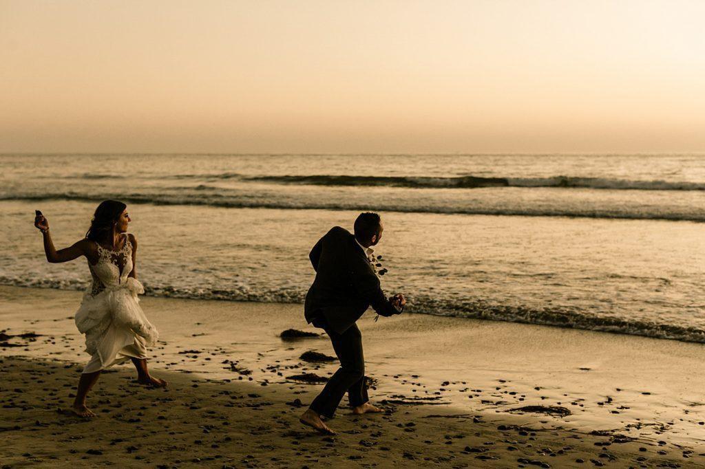 Candid and documentary style wedding photography, Cape Rey Carlsbad Wedding Photographer