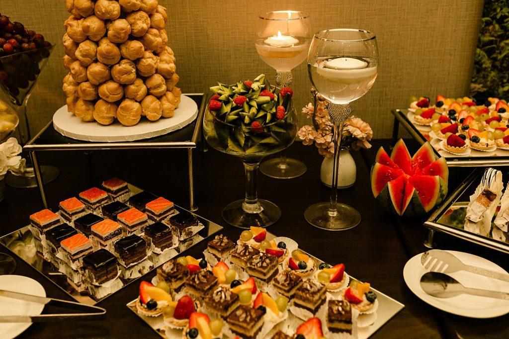 Cape Rey Carlsbad Wedding Photographer, reception detail photos, food