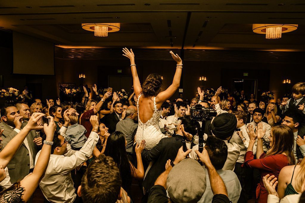 Cape Rey Carlsbad Wedding Photographer, dancing reception