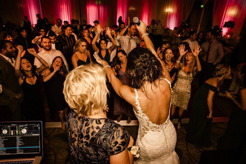 Cape Rey Carlsbad Wedding Photographer documentary style wedding photography, reception dancing