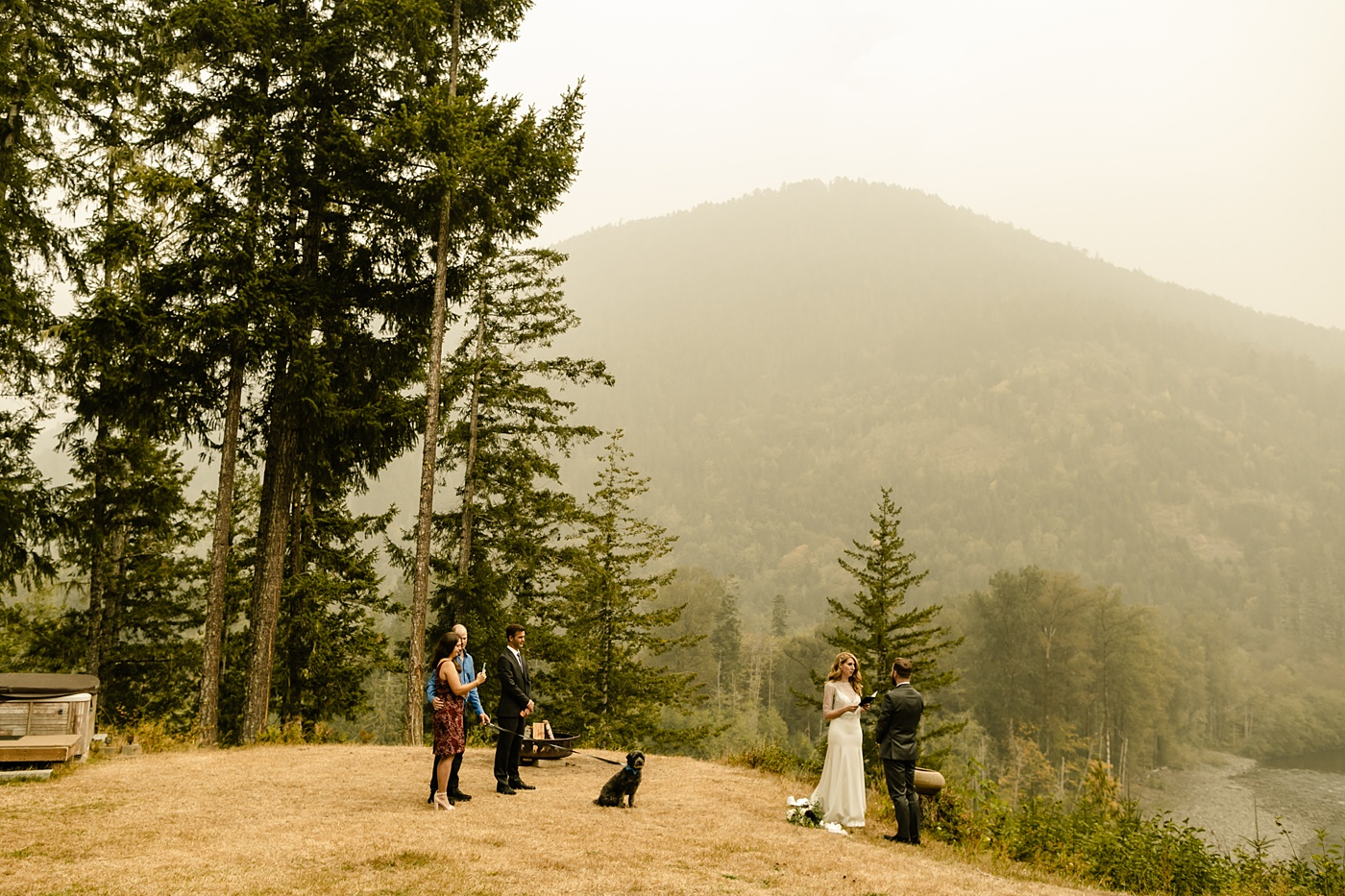 Seattle's Best Airbnb's for Elopements in the mountains washington state photographer